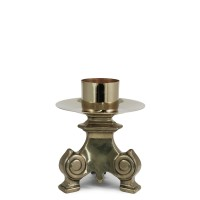 CANDLESTICK AND ALTAR CROSS