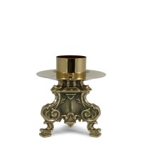 CANDLESTICK AND ALTAR CROSS ROCOCO' STYLE
