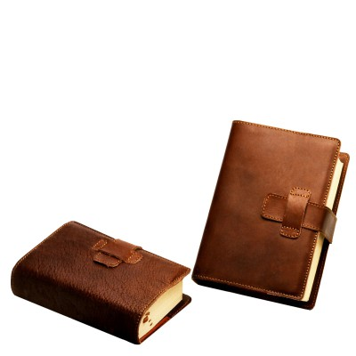 REAL LEATHER BOOK COVER