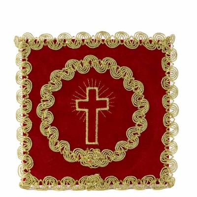RED PALL CROSS EMBROIDERED