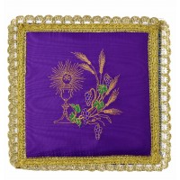VIOLET PALL EMBROIDERED
