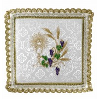 WHITE PALL EMBROIDERED