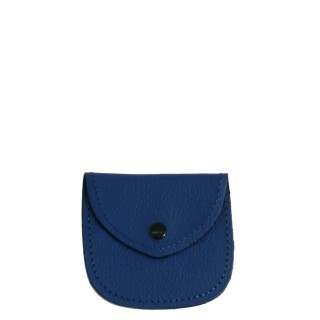 REAL LEATHER BLU ROSARY CASE