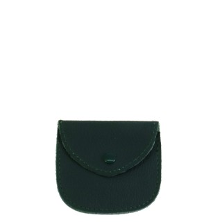 REAL LEATHER GREEN ROSARY CASE